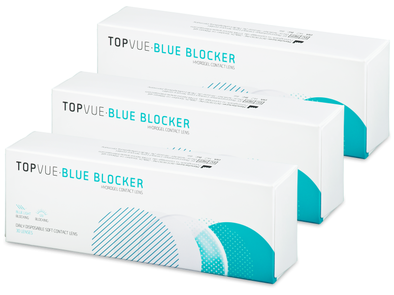 TopVue Blue Blocker (90 lentile)