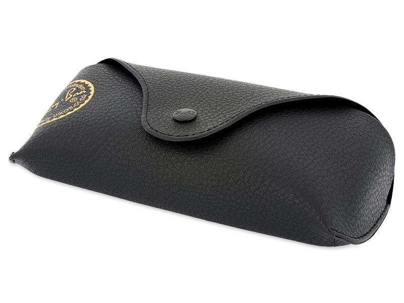 Ochelari de soare Ray-Ban Justin RB4165 - 622/6G  - Original leather case (illustration photo)