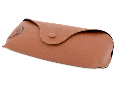 Ochelari de soare Ray-Ban RB2132 - 894/76 POL  - Original leather case (illustration photo)
