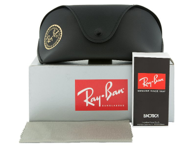 Ochelari de soare Ray-Ban RB4068 - 894/58 POL  - Preview pack (illustration photo)