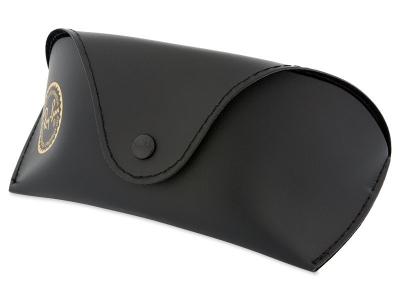 Ochelari de soare Ray-Ban RB4068 - 894/58 POL  - Original leather case (illustration photo)