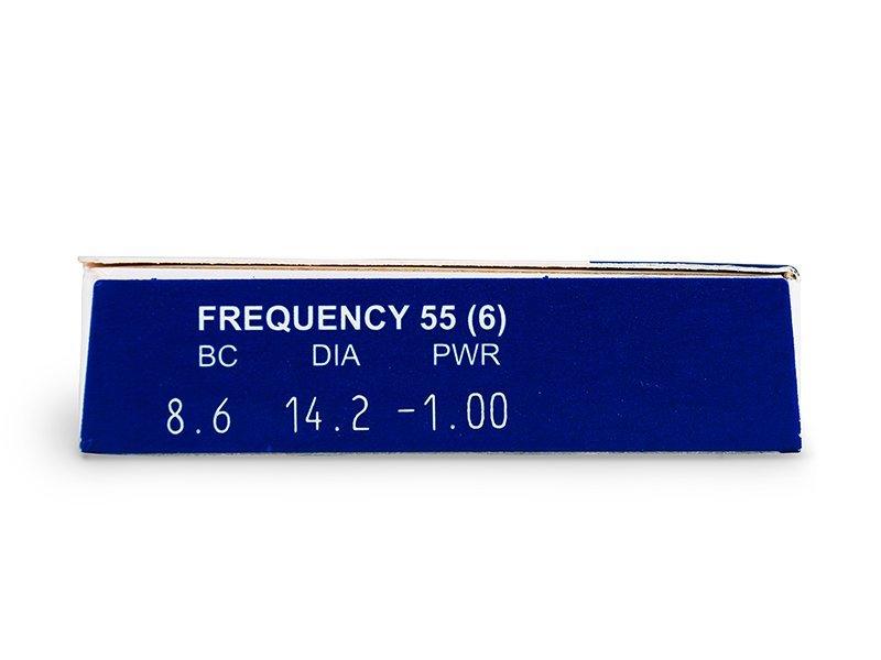 vizualizare parametrii - Frequency 55 (6lentile)