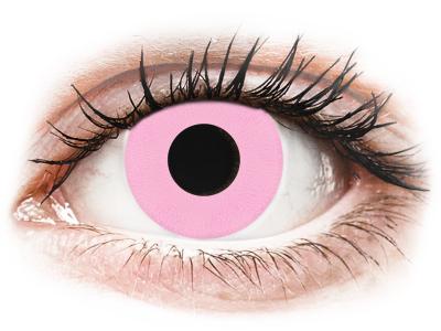 CRAZY LENS - Barbie Pink - lentile zilnice cu dioptrie (2 lentile)