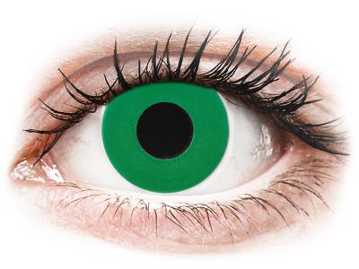 CRAZY LENS - Emerald Green - lentile zilnice cu dioptrie (2 lentile)