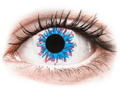 CRAZY LENS - Harlequin - lentile zilnice cu dioptrie (2 lentile)