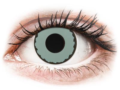 CRAZY LENS - Zombie Virus - lentile zilnice cu dioptrie (2 lentile)