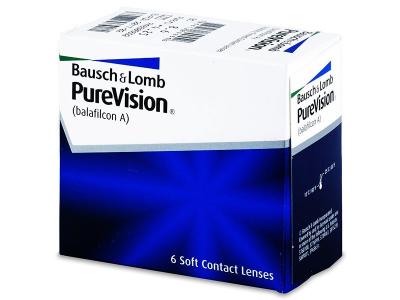 PureVision (6lentile) - Lentile de contact lunare
