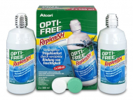 Lentile de contact Alcon - Soluție OPTI-FREE RepleniSH 2 x 300 ml
