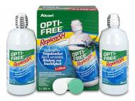 Lentile de contact Alcon - Soluție OPTI-FREE RepleniSH 2x300ml