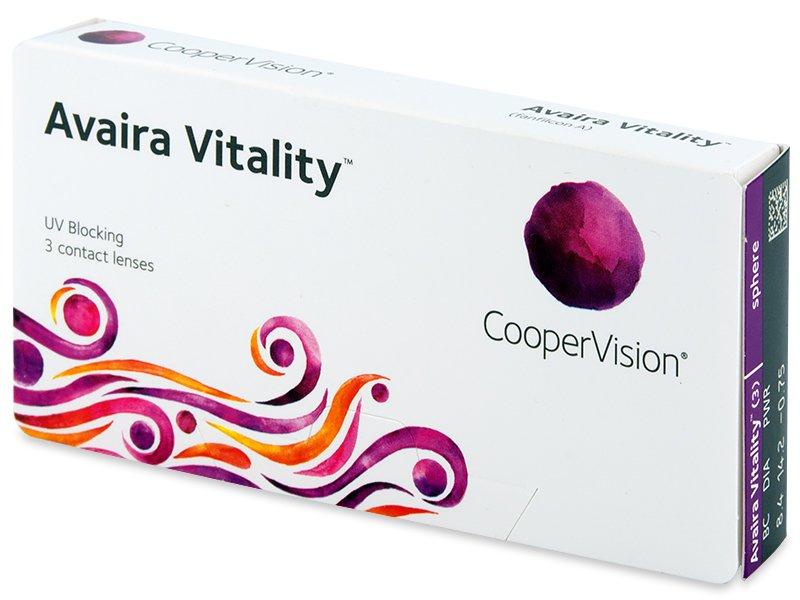 Avaira Vitality (3 lentile) - Contact lenses