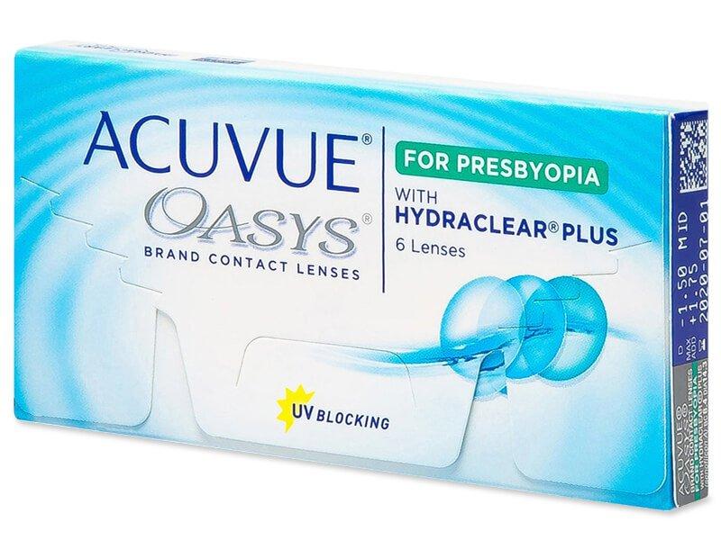 Acuvue Oasys for Presbyopia (6 lentile) - Lentile de contact multifocale