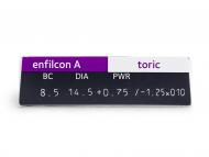 Avaira Toric (3 lentile) - vizualizare parametrii