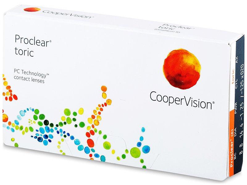 Proclear Toric (3 lentile) - Lentile de contact pentru astigmatism
