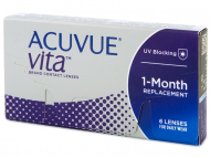 Lentile de contact Johnson and Johnson - Acuvue Vita (6 lentile)