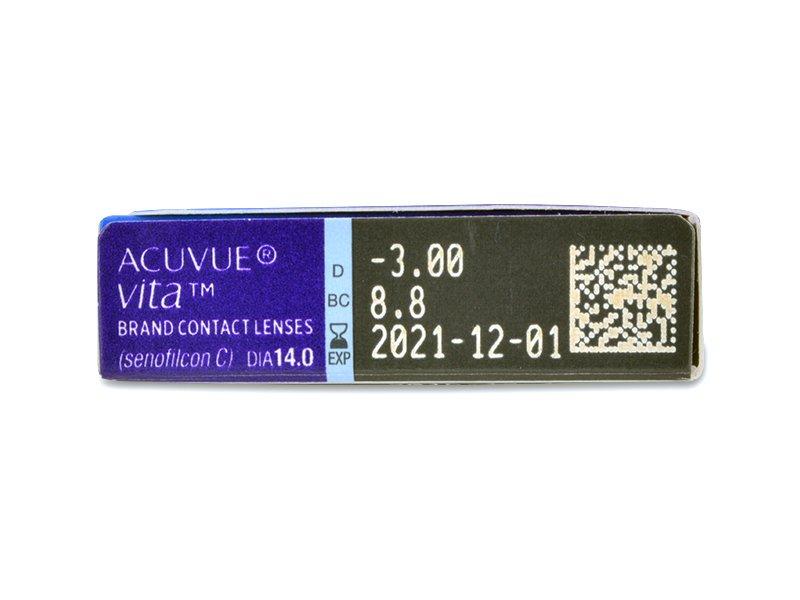 Acuvue Vita (6 lentile) - vizualizare parametrii