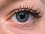 TopVue Color Daily - cu dioptrie (10 lentile) - Blue on grey eye