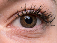 TopVue Color Daily - cu dioptrie (10 lentile) - Brown on grey eye