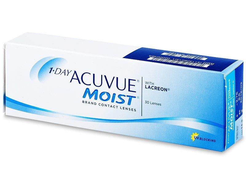 1 Day Acuvue Moist (30lentile) - Lentile zilnice