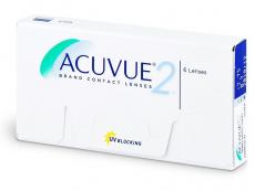 Acuvue 2 (6lentile) - Bi-weekly contact lenses