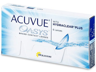 Acuvue Oasys (6 lentile) - Bi-weekly contact lenses