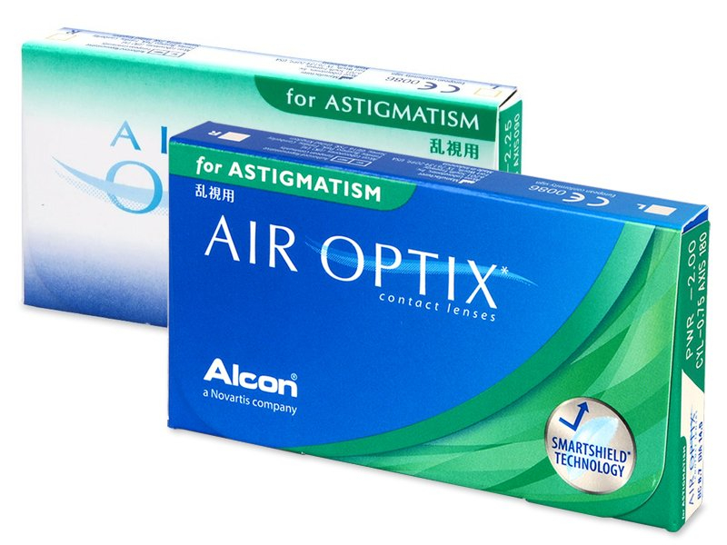 Air Optix for Astigmatism (3 lentile) - Lentile de contact pentru astigmatism
