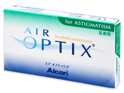 Air Optix for Astigmatism (3 lentile) - design-ul vechi