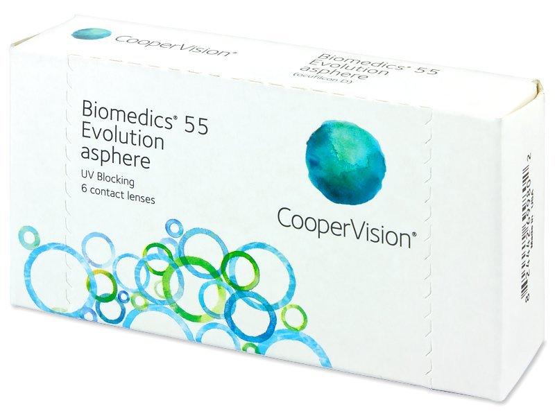Biomedics 55 Evolution (6lentile) - Lentile de contact lunare