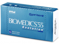 Biomedics 55 Evolution (6lentile) - design-ul vechi