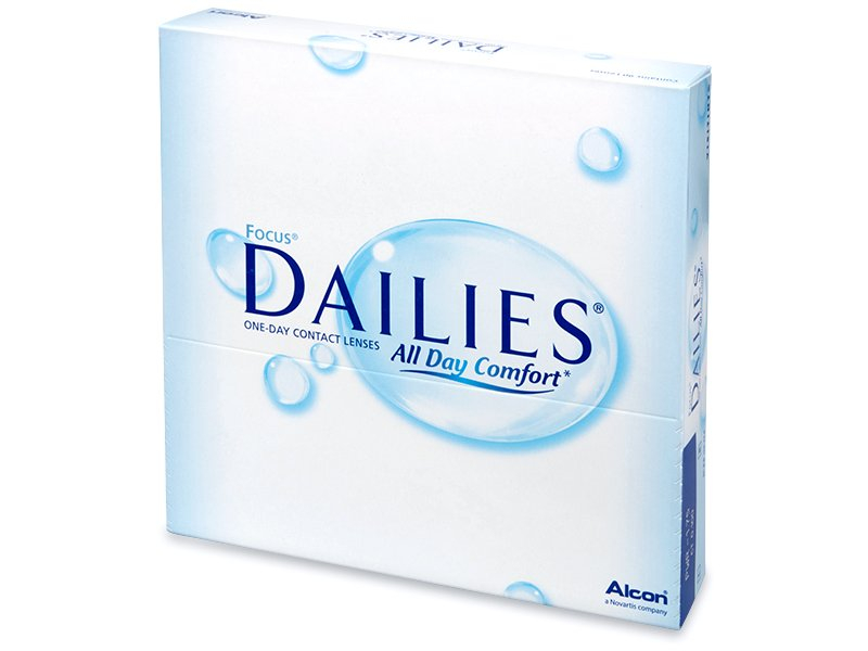 Focus Dailies All Day Comfort (90 lentile) - Lentile zilnice