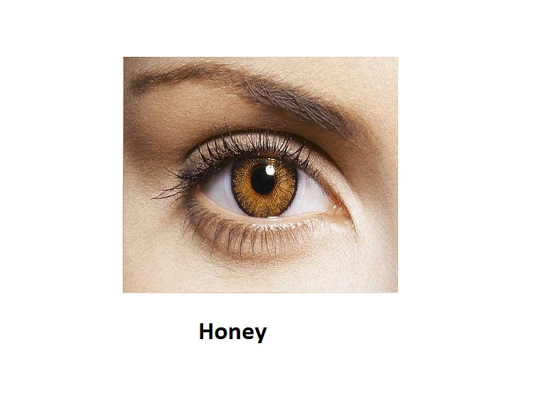 FreshLook ColorBlends - fără dioptrie (2lentile) - Honey