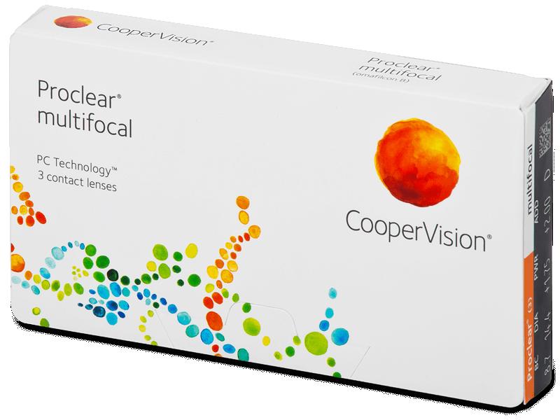Proclear Multifocal (3lentile) - Lentile de contact multifocale