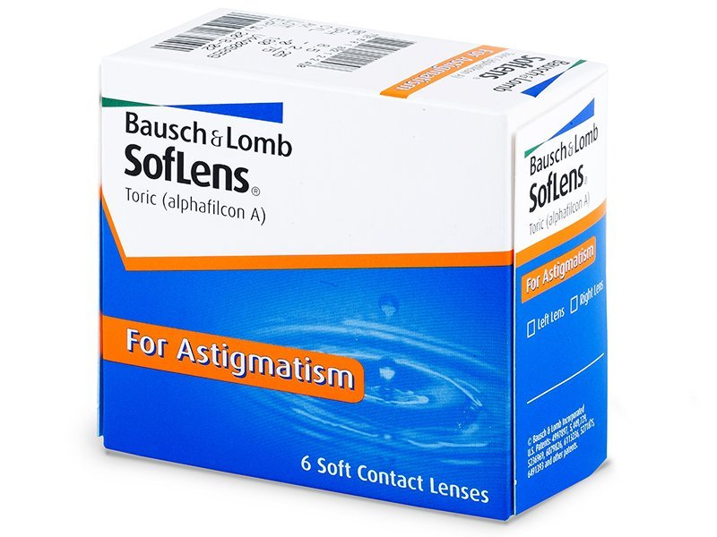 SofLens Toric (6lentile) - Lentile de contact pentru astigmatism