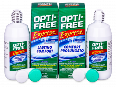 Soluție OPTI-FREE Express 2x355 ml  - Economy duo pack- solution