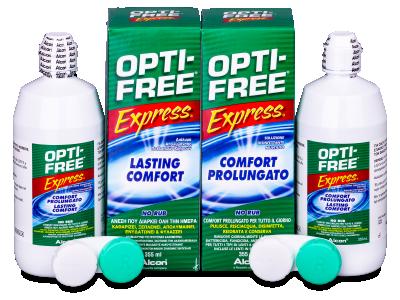 Soluție OPTI-FREE Express 2x355 ml  - design-ul vechi