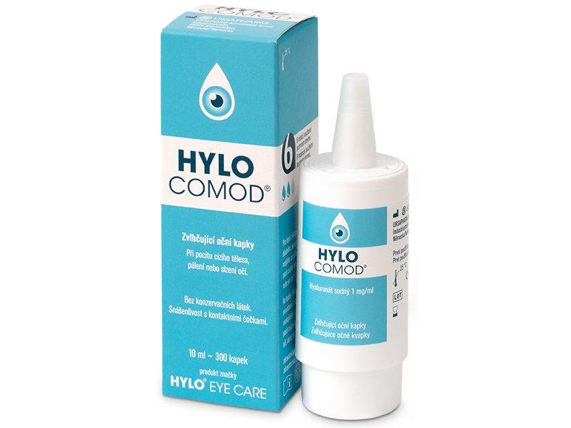 Picături oftalmice  HYLO-COMOD 10ml  - Picături pentru ochi