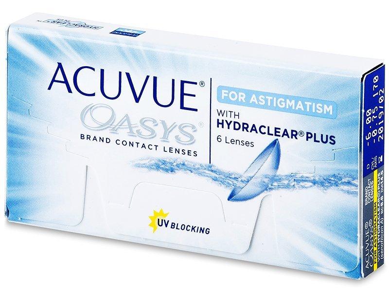 Lentile de contact pentru astigmatism - Acuvue Oasys for Astigmatism (6lentile)