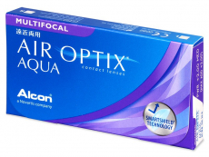 Air Optix Aqua Multifocal (3 lentile) - Lentile de contact multifocale