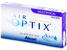Air Optix Aqua Multifocal (3 lentile) - design-ul vechi