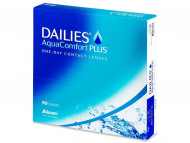 Lentile de contact zilnice - Dailies AquaComfort Plus (90 lentile)
