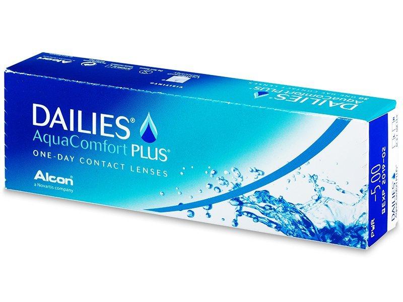 Dailies AquaComfort Plus (30lentile) - Lentile zilnice
