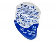 Dailies AquaComfort Plus (30lentile) - vizualizare ambalaj