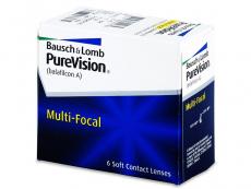PureVision Multi-Focal (6lentile) - Lentile de contact multifocale