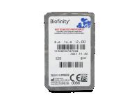 Biofinity (6lentile) - vizualizare ambalaj