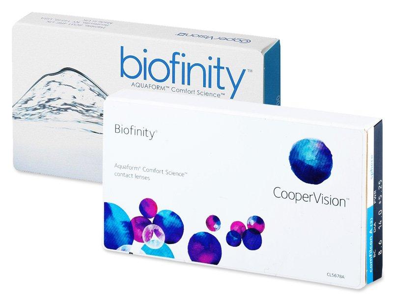 design-ul vechi - Biofinity (6lentile)