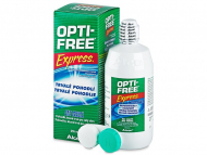 Lentile de contact Alcon - Soluție OPTI-FREE Express 355 ml
