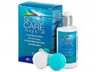 Solutii pentru lentile de contact - solutii oftalmice de curatare si dezinfectare - Soluție  SoloCare Aqua 90ml