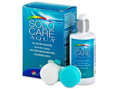Soluție  SoloCare Aqua 90ml  - design-ul vechi