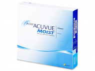 Lentile de contact zilnice - 1 Day Acuvue Moist (90 lentile)
