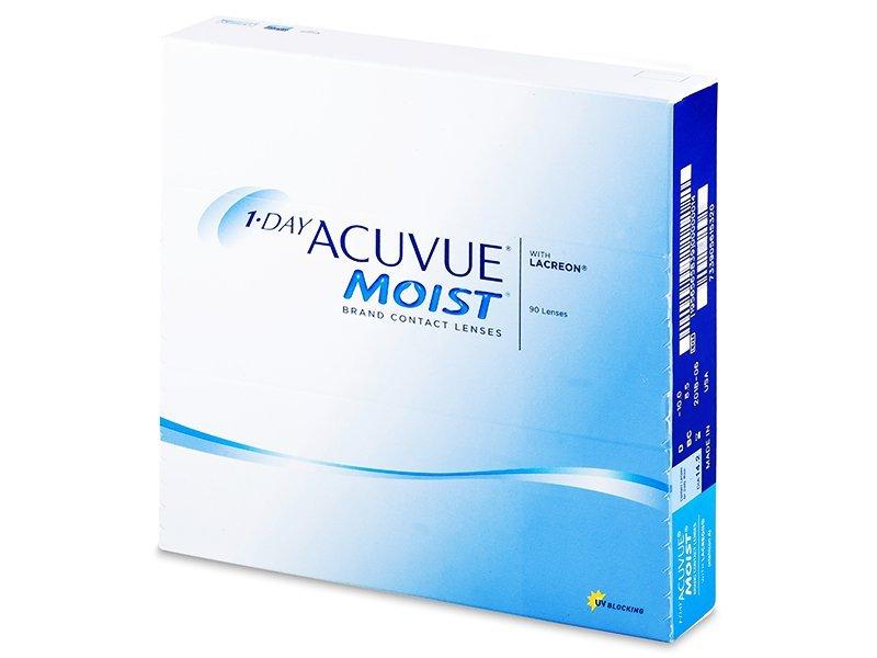 1 Day Acuvue Moist (90lentile) - Lentile zilnice