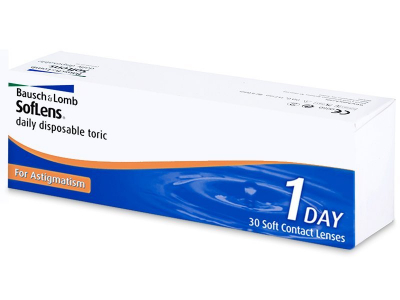SofLens Daily Disposable Toric (30 lentile) - Lentile de contact pentru astigmatism